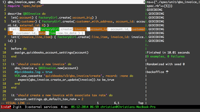 Increased Developer Productivity with Tmux, Part 1: 5-minute overview