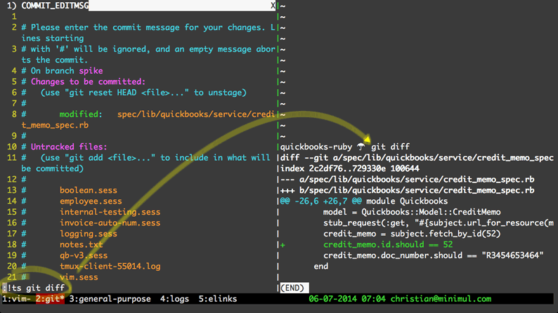 Increased Developer Productivity with Tmux, Part 5: Send