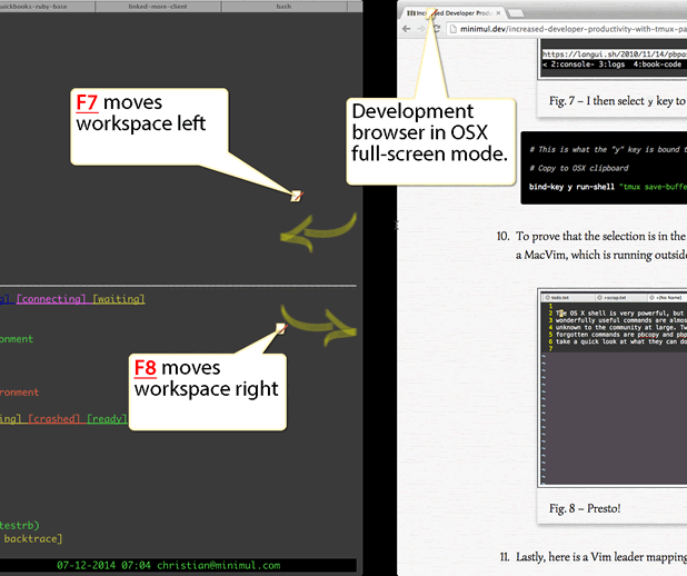 Increased Developer Productivity with Tmux, Part 9: Terminal app