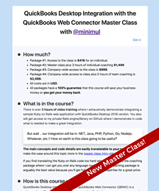 The QuickBooks Desktop Training Master Class